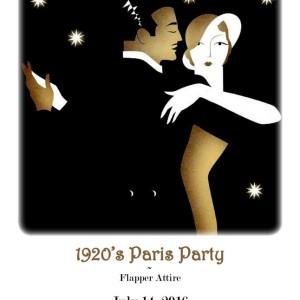 1920s Paris Party to Celebrate Bastille Day Greenville @ Westin Poinsett Hotel