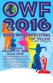 Our World Festival 2016 @ the Village of West Greenville