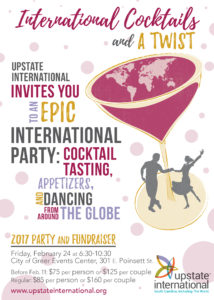 International Cocktails and A Twist: Our 2017 Epic Party and Fundraiser @ City of Greer Events Center | Greer | South Carolina | United States