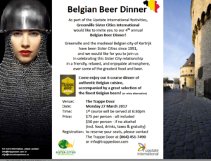 Belgian Beer Dinner @ The Trappe Door | Greenville | South Carolina | United States
