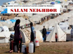 Screening of Salam Neighbor: Looking into the lives of refugees @ As-Sabeel Academy of Greenville | Greer | South Carolina | United States