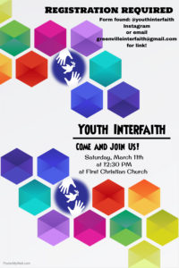 Youth Interfaith @ First Christian Church | Greenville | South Carolina | United States