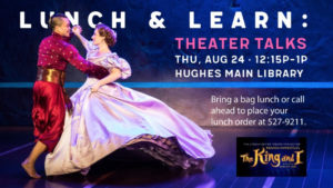 Lunch & Learn: Theater Talk @ Hughes Main Library | Greenville | South Carolina | United States