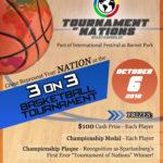 1st Annual Tournament of Nations 3 on 3 Basketball Tournament @ Barnet Park | Spartanburg | South Carolina | United States