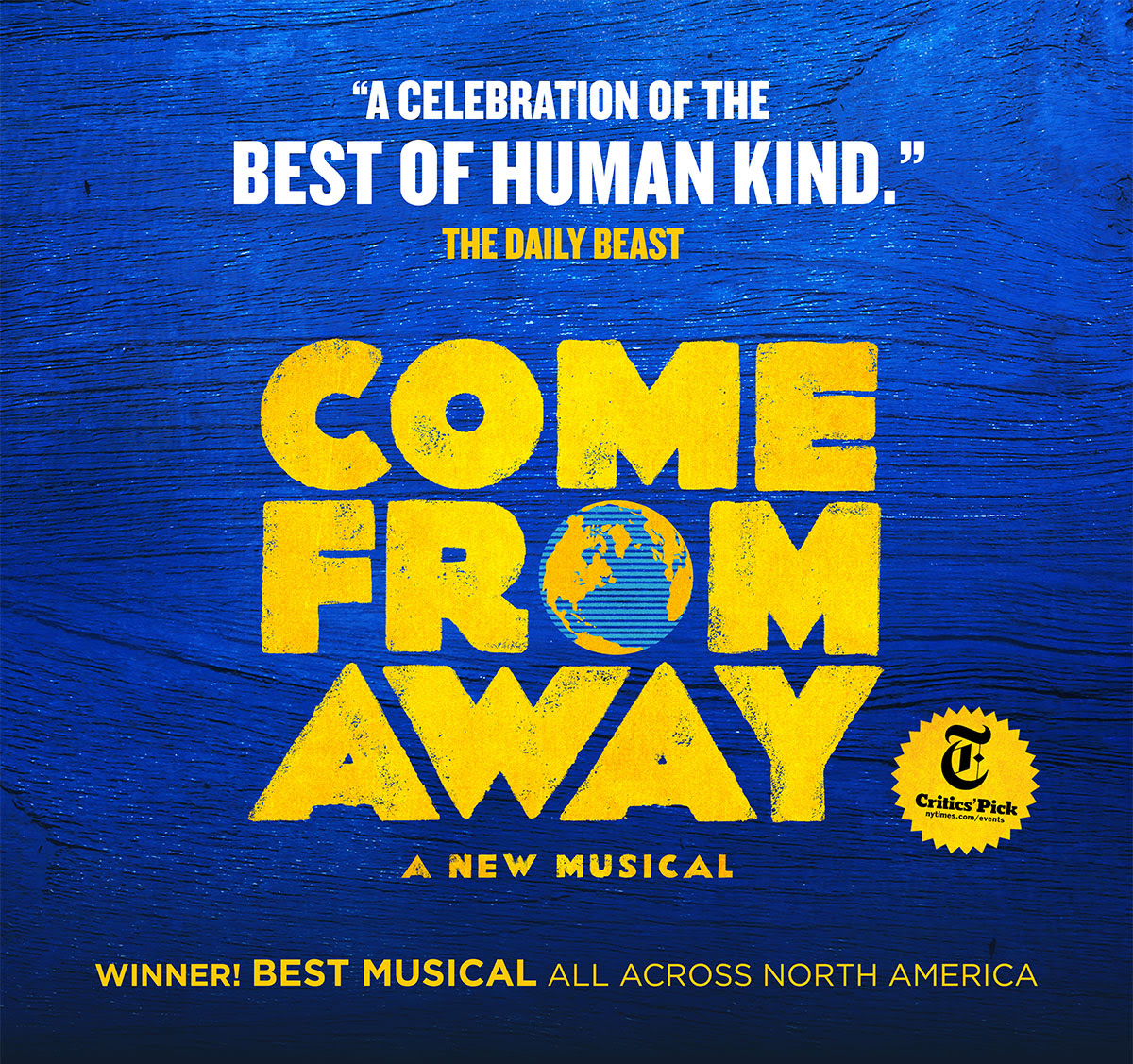 Come From Away @ The Peace Center