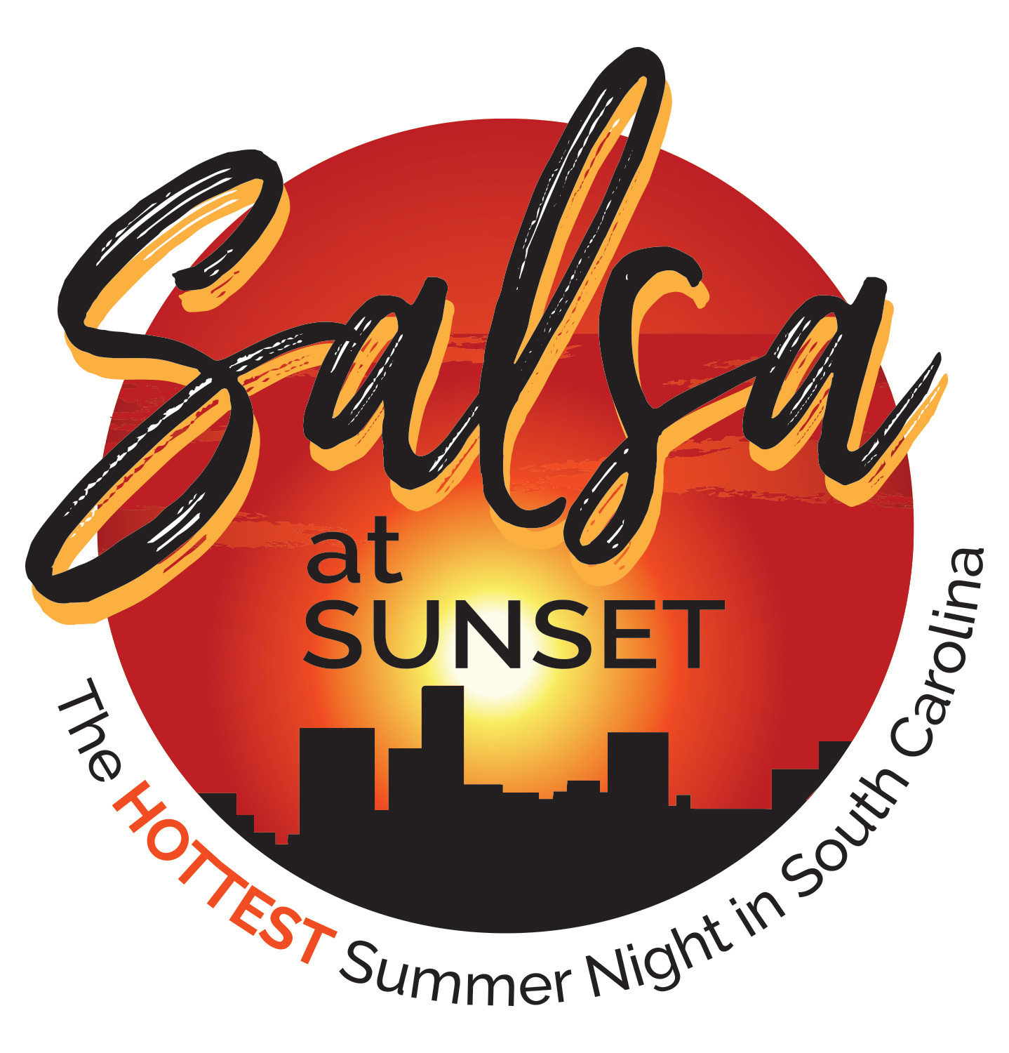 Salsa at Sunset @ Graham Plaza in front of the Peace Center