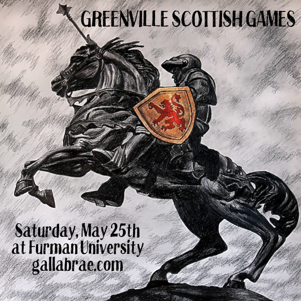Greenville Scottish Games @ Furman University