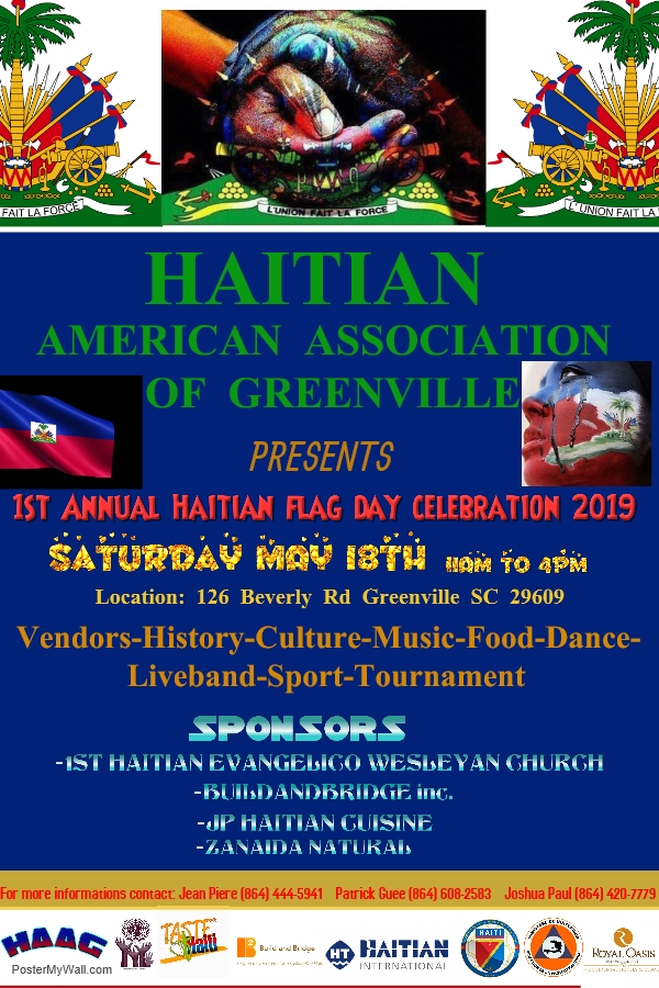 1st Annual Haitian Flag Day Celebration