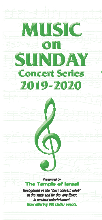 Music on Sundays Concert Series 2019-2010: Salsa Shark @ Temple of Israel