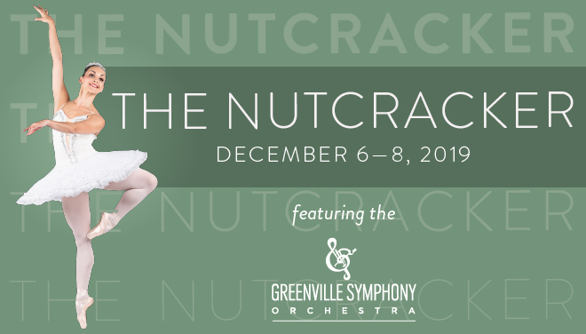 The Nutcracker featuring the Greenville Symphony @ The Peace Center