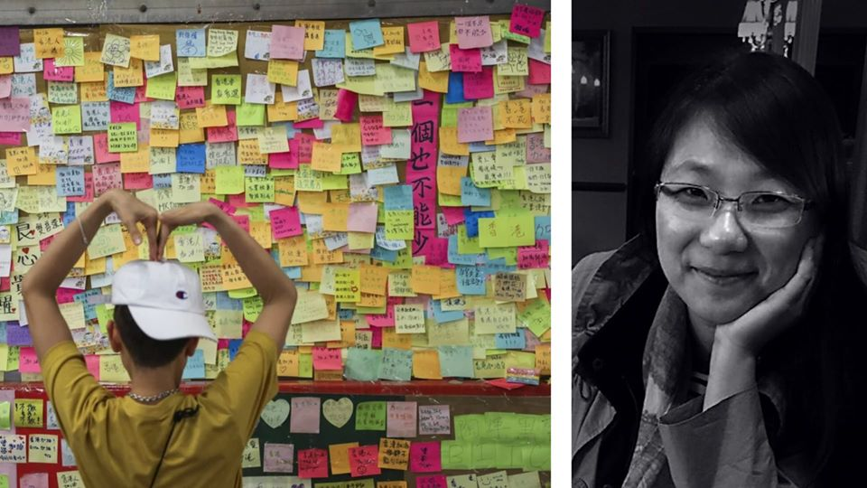 Free artist talk: Images & messages from the Lennon Wall pro-democracy protests in Hong Kong - Hub Bub, Chapman Cultural Center, Spartanburg, SC @ HUB-BUB
