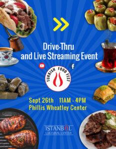 Turkish Food Fest @ Phillis Wheatley Center