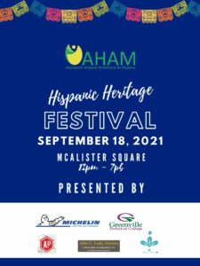 Hispanic Heritage Festival 2021 @ McAlister Square